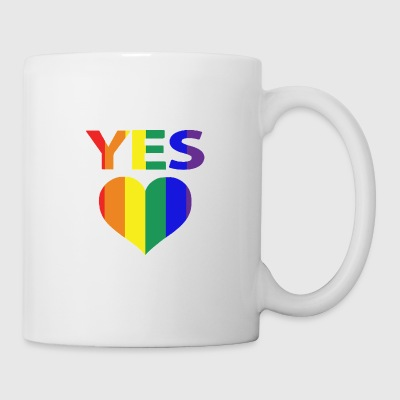 yes vote in marriage equality - Coffee/Tea Mug