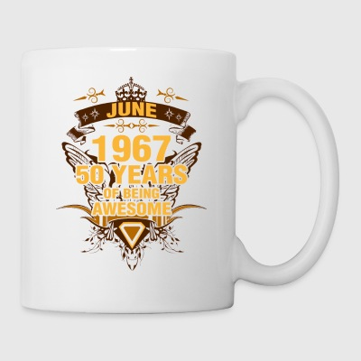 June 1967 50 Years of Being Awesome - Coffee/Tea Mug
