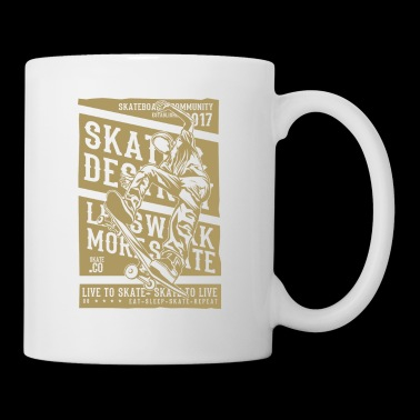 LIVE TO SKATE - Coffee/Tea Mug