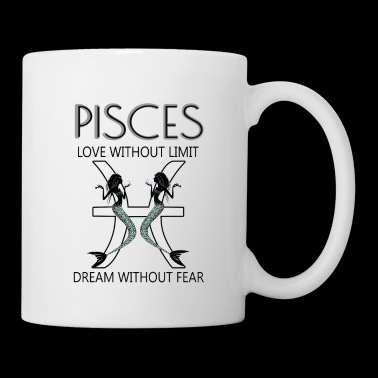 Zodiac Pisces T-Shirts - Coffee/Tea Mug