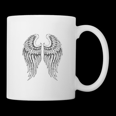 GUARDIAN ANGEL DAD T Shirt - Coffee/Tea Mug