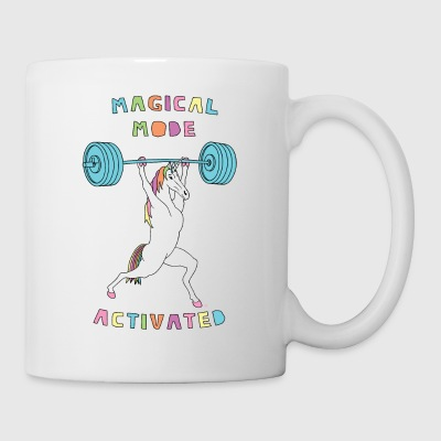 Magical Mode Unicorn Outline - Coffee/Tea Mug