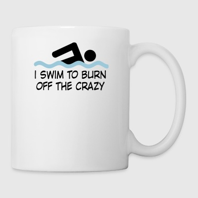 swimming - Coffee/Tea Mug