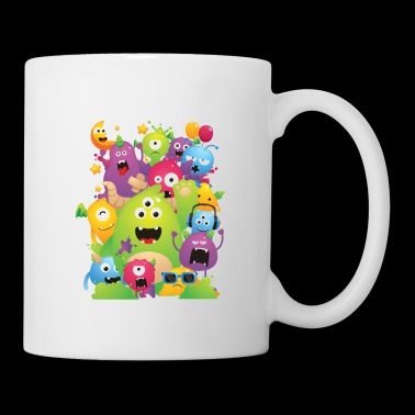 Monster Party - Coffee/Tea Mug