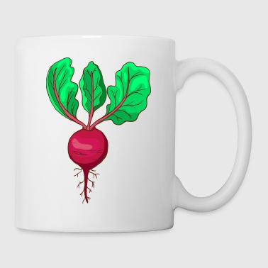 Beetroot Taproot Beet Plant Golden Red - Coffee/Tea Mug