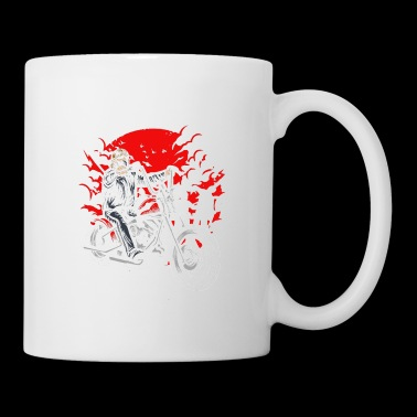 Zombie On Bike - Coffee/Tea Mug