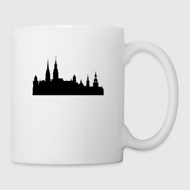 Hamburg silhouette - Coffee/Tea Mug