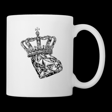 Sparkly Shimmering Diamond Crown Royal - Coffee/Tea Mug