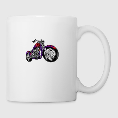 Weekend Forecast Motorcycling Motorcycle - Coffee/Tea Mug
