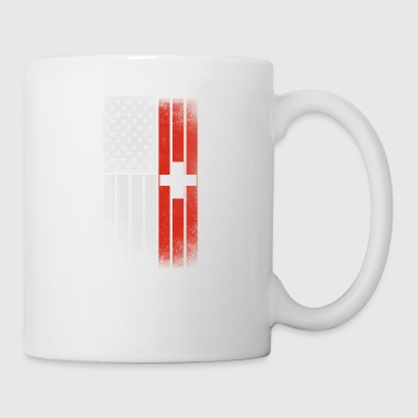 Swiss American Flag - Coffee/Tea Mug