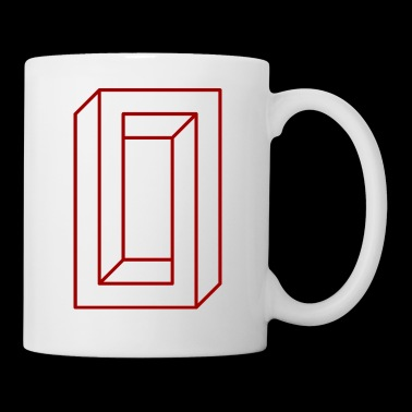 IMPOSSIBLE RECTANGLE RED - Coffee/Tea Mug