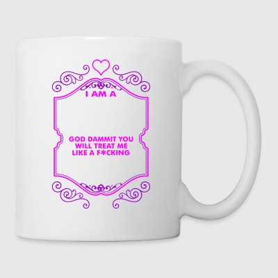 I Am A Delicate Flower Fucking Lady - Coffee/Tea Mug