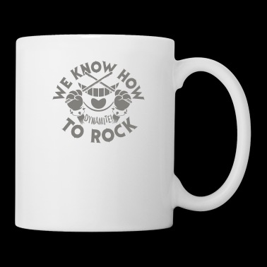 We Know How To Rock - Coffee/Tea Mug