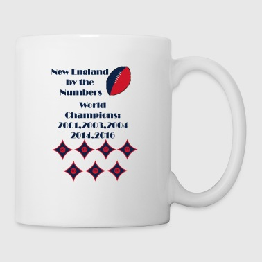 By The Numbers-New England Football - Coffee/Tea Mug