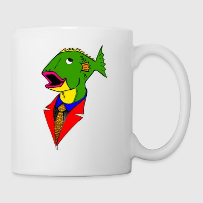 Bidness Fish - Coffee/Tea Mug