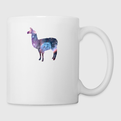 space llama shirt - Coffee/Tea Mug