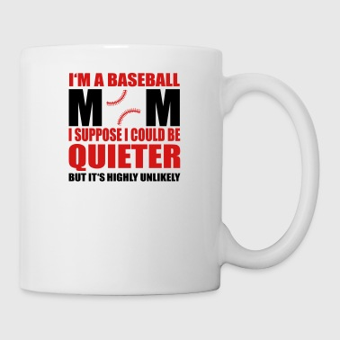 Baseball mom - Coffee/Tea Mug