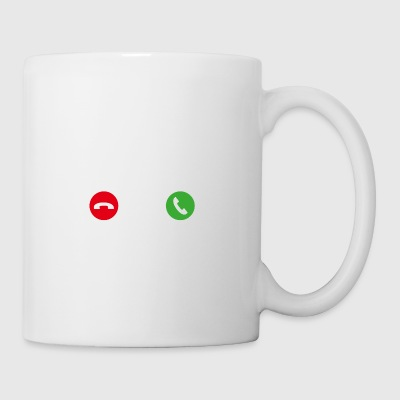 Call Mobile Anruf yoga - Coffee/Tea Mug