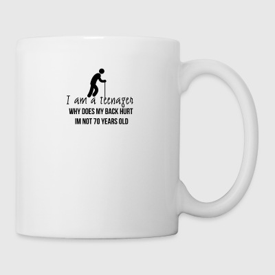 I am a teenager - Coffee/Tea Mug