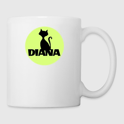 Diana first name - Coffee/Tea Mug