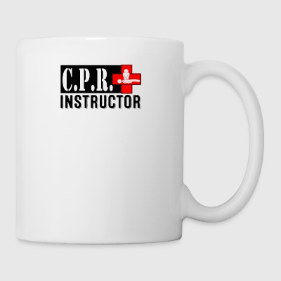 CPR INSTRUCTOR NEW FONT - Coffee/Tea Mug