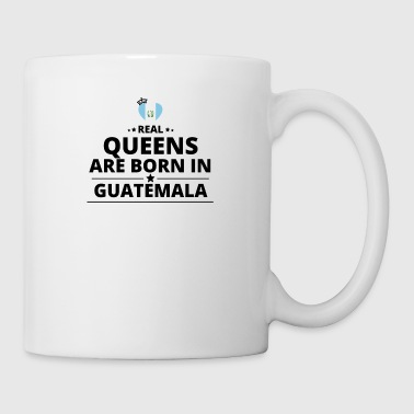 GESCHENK QUEENS LOVE FROM GUATEMALA - Coffee/Tea Mug