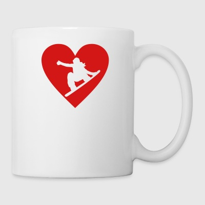 Snowboard - Coffee/Tea Mug
