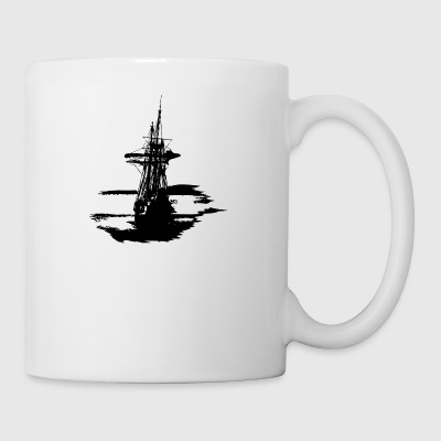 pirate ship - Coffee/Tea Mug