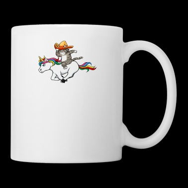 Unicorn Cat Cinco De Mayo Sombrero - Coffee/Tea Mug