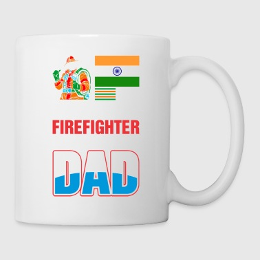 This India Firefighter is An Awesome Dad - Coffee/Tea Mug