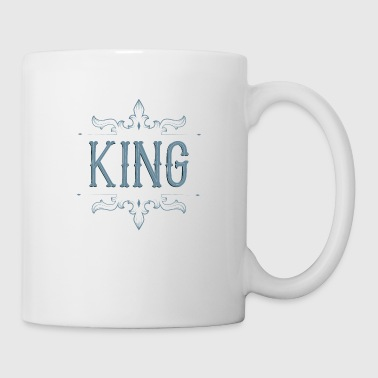 King. Prince. Partner. Queen. Love. Lettering - Coffee/Tea Mug