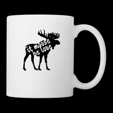 it moose be love - Coffee/Tea Mug