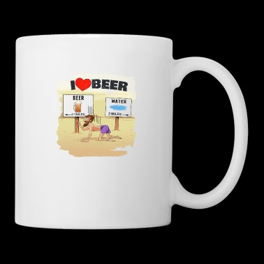 I love beer, craft beer, beer lover, drinking, ipa - Coffee/Tea Mug