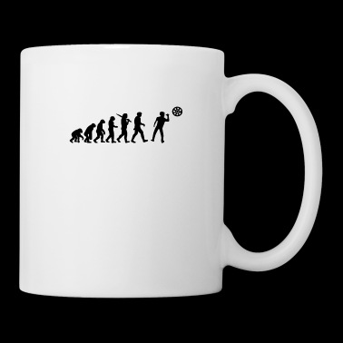 Evolution of a Darts Player T Shirt Phil Taylor Bo - Coffee/Tea Mug