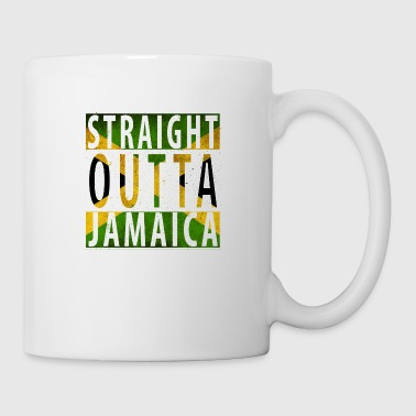 Straight Outta Jamaica flag only - Coffee/Tea Mug