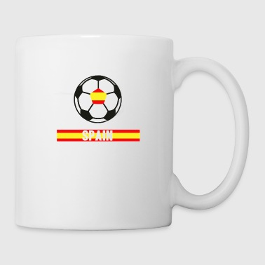 Spain Worldchampion 18 Soccer Football transparent - Coffee/Tea Mug