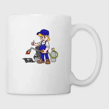 Roofer - Coffee/Tea Mug
