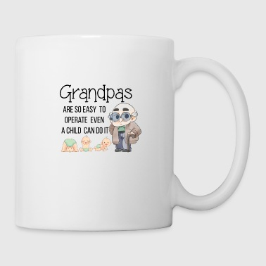 Cute Grandpa Granddad Grandfather Shirts Gifts - Coffee/Tea Mug