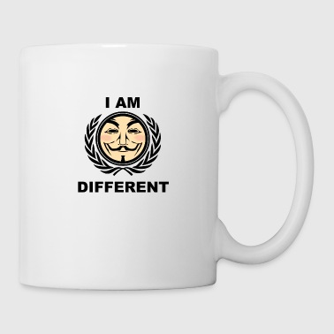 I am different - Anonymous - Coffee/Tea Mug