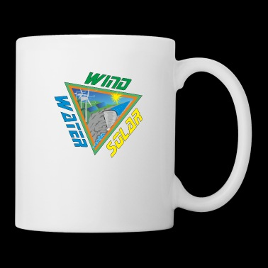 Solar Wind Water Renewable Energy - Coffee/Tea Mug