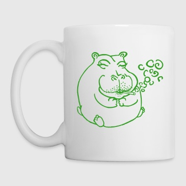 Stoner Hippopotamus - Coffee/Tea Mug