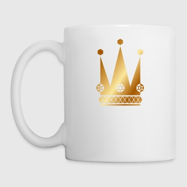 Ornate-golden-king-royal-crowns-vector - Coffee/Tea Mug