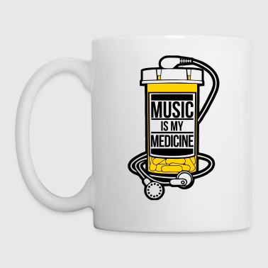 Music is my medicine - Coffee/Tea Mug