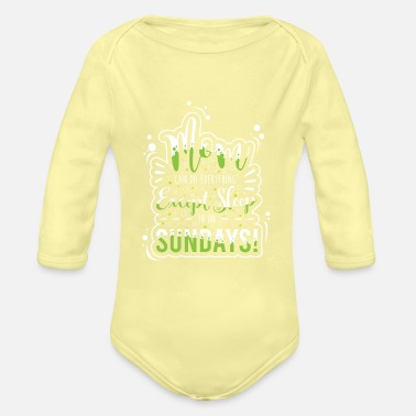 Whole Mother's Day Mom Can Do Anything But Sleep - Organic Long-Sleeved Baby Bodysuit