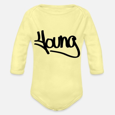 Young young - Organic Long-Sleeved Baby Bodysuit