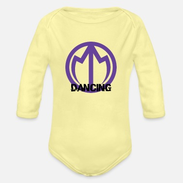 Monarch Monarch Dancing - Organic Long-Sleeved Baby Bodysuit