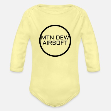Dew MTN DEW AIRSOFT MERCH - Organic Long-Sleeved Baby Bodysuit