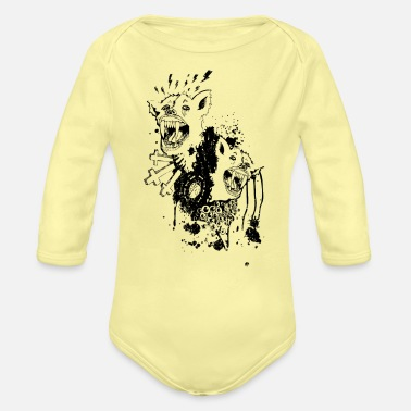 Superstition Superstition - Organic Long-Sleeved Baby Bodysuit