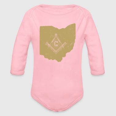 Freemasons Ohio Freemason Shirt Masonic Ritual Shirt Freemason Gifts - Organic Long Sleeve Baby Bodysuit