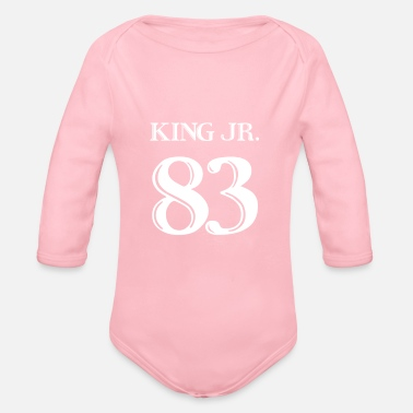 Martin Luther King Martin Luther King JR. - Organic Long Sleeve Baby Bodysuit